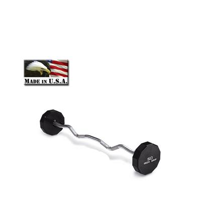IRON GRIP Urethane EZ Curl Barbell