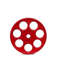 IVANKO ROEZH Rubber E-Z Lift Olympic Plates - 45LB Red