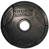 Troy Rubber Encased Interlocking Grip Plates - 10LB