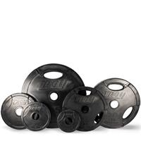 Troy Rubber Encased Interlocking Grip Plate Set - 255LB