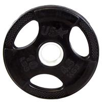 Troy USA Sports GP-R Rubber Encased Olympic Grip Plate
