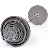 Troy USA Sports Gray Olympic Weight Set