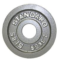 Troy USA Sports Gray Olympic Plates - 5LB
