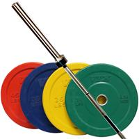 Troy VTX Bumper Plate Weight Set