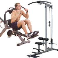 Body-Solid Ab and Back Equipment