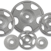 Hampton Fitness Iron Olympic Grip Plates