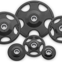 Hampton Fitness Urethane Encased Olympic Grip Plates