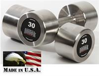 InTek Strength Delta Series Stainless Steel Dumbbells Sets & Pairs