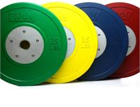Troy CCO-SBP Competition Bumper Plates in Pounds - Colored