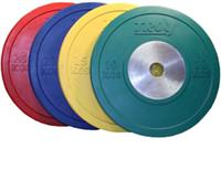 Troy Competition Bumper Plates