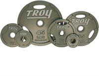 Troy Machined Interlocking Olympic Grip Weights