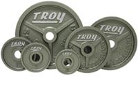 Troy High Grade Wide Flanged Olympic Weights