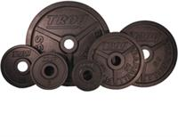 Troy Premium Wide Flanged Olympic Weights