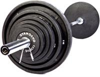 Troy USA Sports Black Olympic Weights