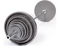 Troy USA Sports Gray Olympic Weights