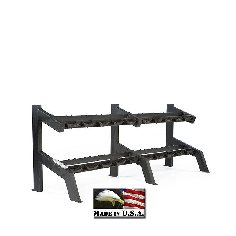 Ivanko Weight Rack: IVANKO RK-8500-KD 10 Pair Dumbbell Rack