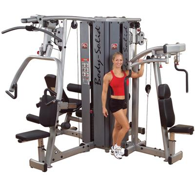 Body-Solid Pro Dual DGYM Modular Gym For 210LB