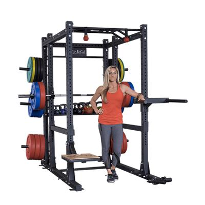 Body-Solid SPR1000BackP4 Commercial Extended Power Rack Package