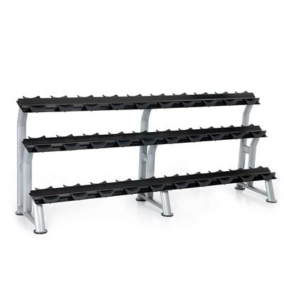Hampton Fitness 3T-SDL-15 Three Tier Dumbbell Saddle Rack