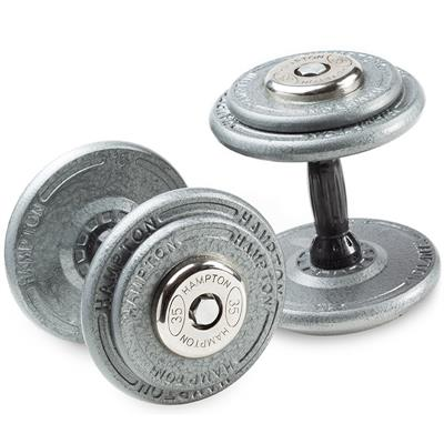 Hampton Fitness Commercial Pro Style Dumbbells
