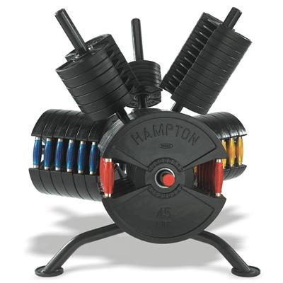 Hampton Fitness FNR-1 Rotating Plate Rack