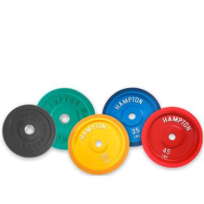 Hampton Fitness Bumper Plate Set