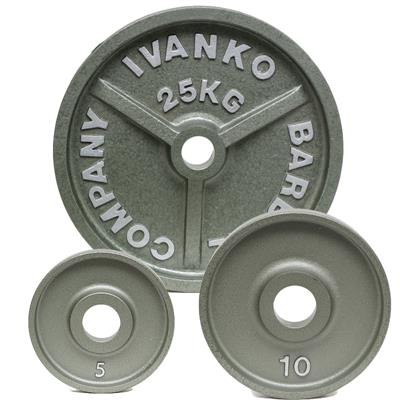IVANKO OM KG Series Olympic Machined Plate Set