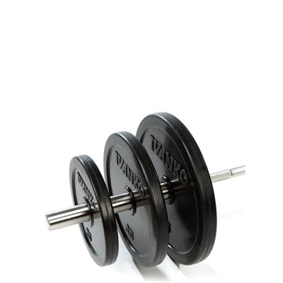 IVANKO RUBO Rubber Encased Olympic Plate Set - (Bar Not Included)