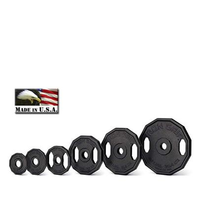 IRON GRIP Iron Olympic Plates -25LB