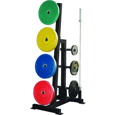 York Single Sided Bumper Plate and Weight Tree