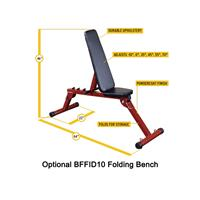 Body-Solid Best Fitness Folding Weight Bench BFFID10