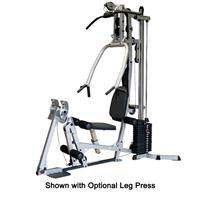 Body-Solid BSG10X Shown with Optional Leg Press