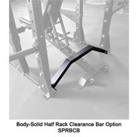 Half Rack Clearance Bar Attachment SPRBCB Oprion