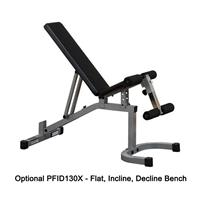 Body-Solid Powerline PFID130X Flat, Incline, Decline Bench Option