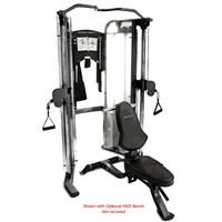 BodyCraft PFT V2 Functional Trainer (Bench Optional)