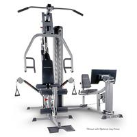 BodyCraft XPress Pro Strength Training System Shown with Leg Press Option