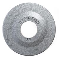 Hampton Fitness Iron Olympic Grip Plates - 2.5LB