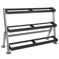 Hampton Fitness 3T-52 Three Tier Horizontal Dumbbell Rack