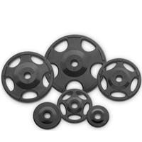 Hampton Fitness Rubber Encased Olympic Grip Plate Set