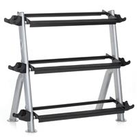 Hampton Fitness HV-3T Three Tier Horizontal Dumbbell Rack