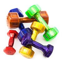 Hampton Fitness Jelly-Bell Urethane Aerobic Dumbbell Set
