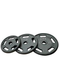 InTek Strength Cast Steel Olympic Plates