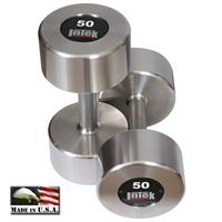 InTek Strength Delta Series Stainless Steel Dumbbells