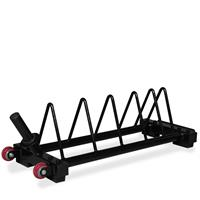 InTek Strength Short Horizontal Bumper Storage Rack