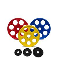 IVANKO ROEZHC Rubber Encased E-Z Lift Olympic Plate Set