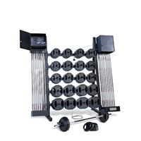 IRON GRIP Group Strength Club Pack Training System with Locking Rack