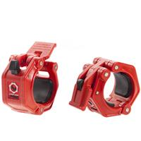 Lock-Jaw Pro 2 Barbell Olympic Collars - Red