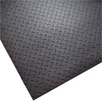 Rubber Gym Mat Diamond Plate Texture