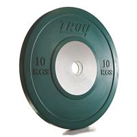 Troy Competition Bumper Plates - 10KG - (1 pair)
