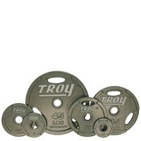 Troy Machined Interlocking Olympic Grip Plate Set